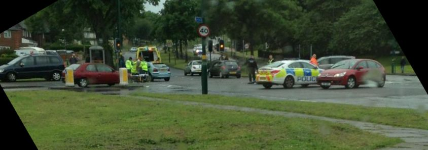 Accident at 11.30am | image by Soph Lewis