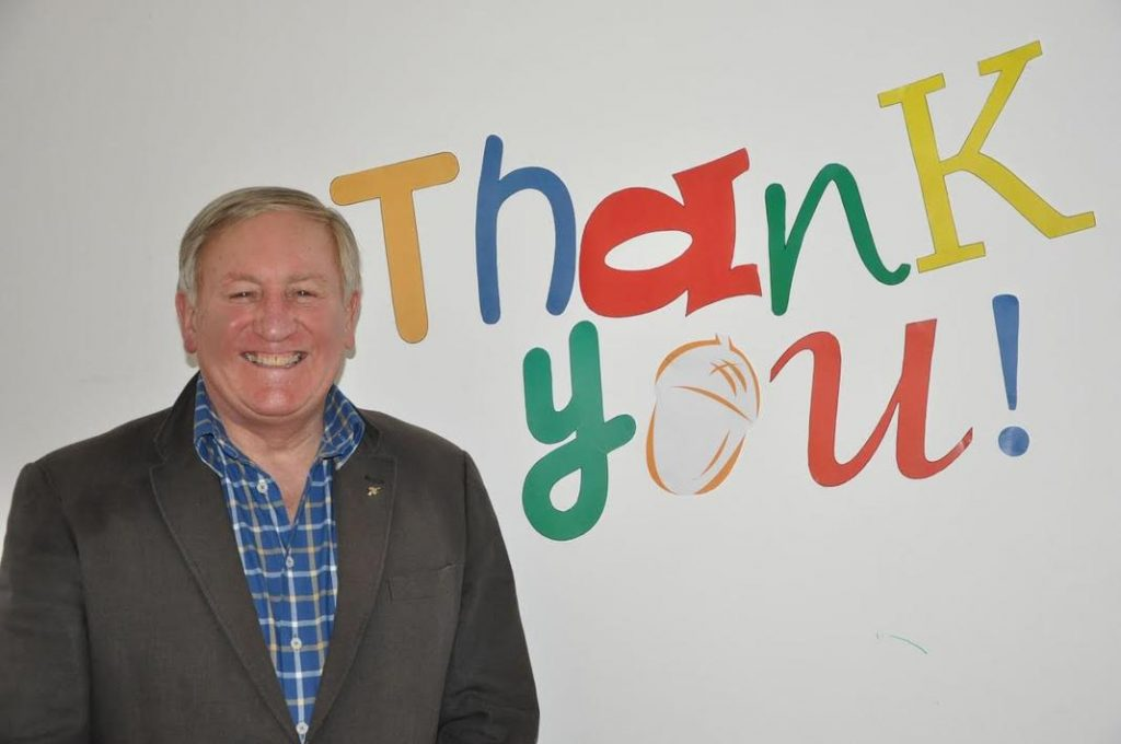 "Acorns' Chief Executive David Strudley says ""Thank you! to B31 supporters"