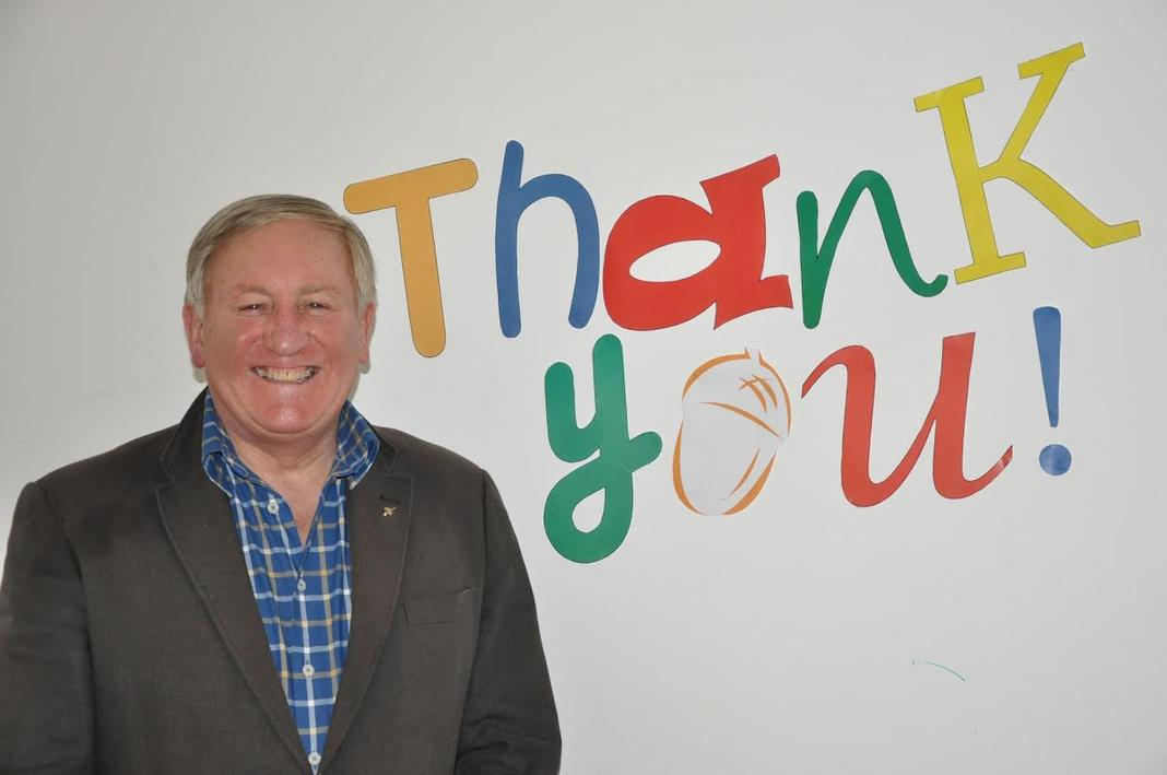 "Acorns' Chief Executive David Strudel says ""Thank you! to B31 supporters"