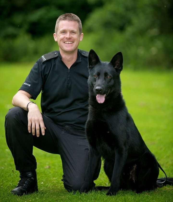 PD Ska & handler PC Keith Bennett
