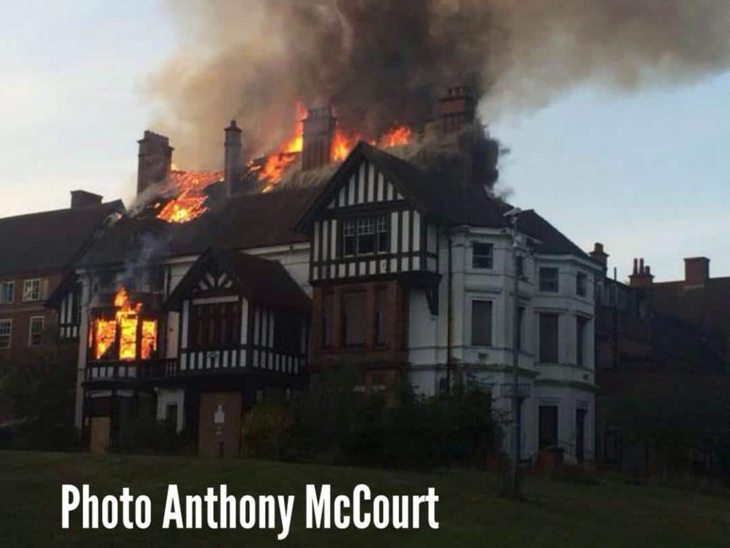 Manor House fire 30th July 2014