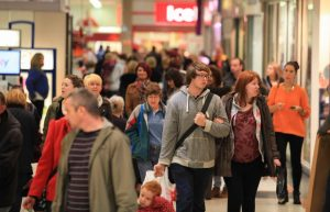 Retailers at Northfield Shopping Centre have been busy in the run up to Christmas