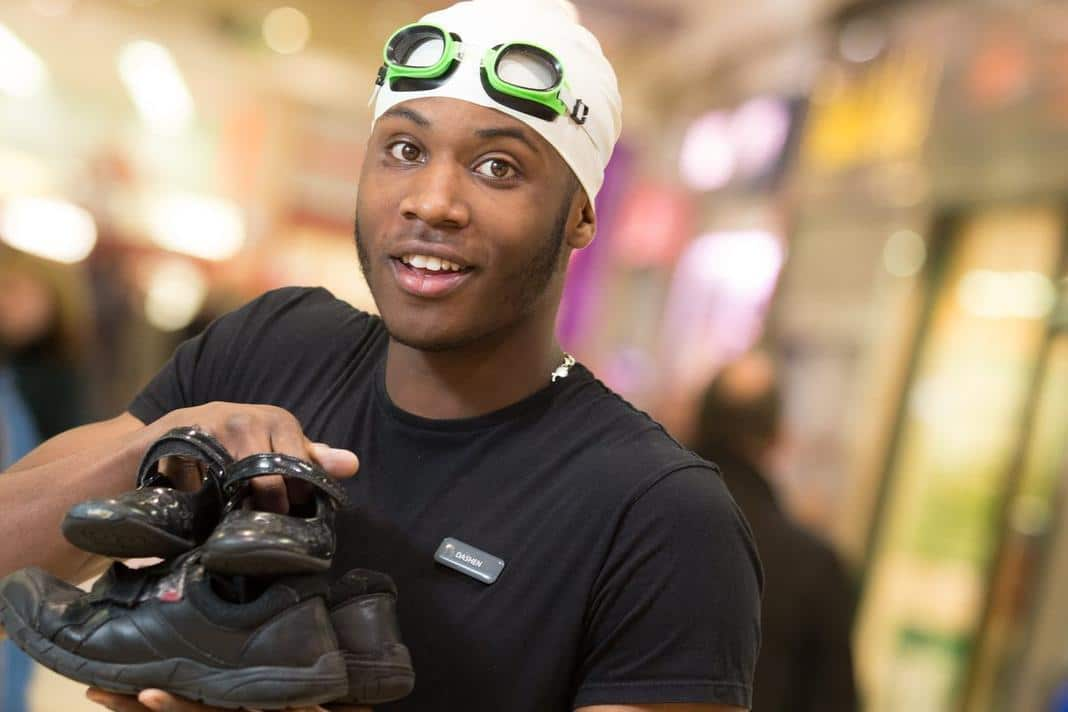 Northfield Shopping Centre Worker Dashen Takes The Plunge To Help Youngsters In Africa B31 Voices
