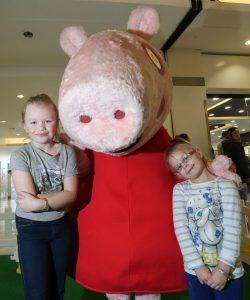 Eloise Middleton, seven, Chloe Middleton, Four, of Rednal