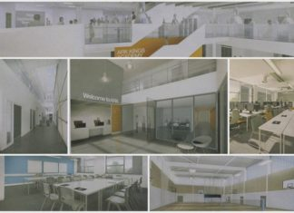 Artist's impression of what the new ARK Kings Academy school building might look like.