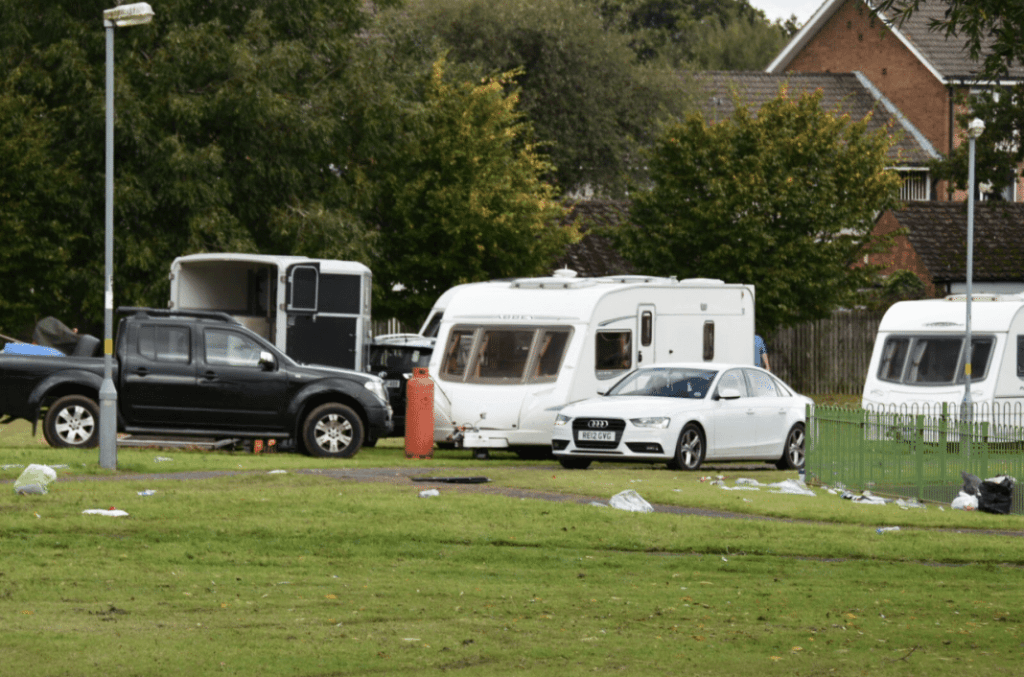 Travellers on Long Nuke Park
