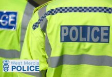 West Mercia Police high vis