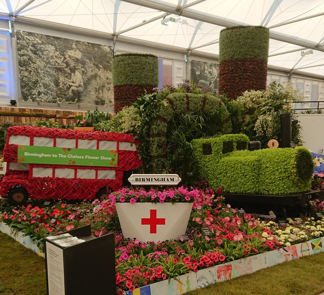 In pictures: It\'s a Chelsea Gold for Birmingham\'s Windrush garden ...
