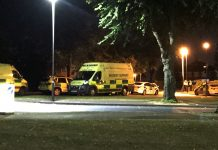Photo @snappersk - Ambulances and police cars in a residential street in weoley castle