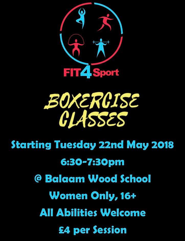 3bcbfb469b75 Women Only Boxercise Classes