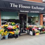 Flower exchange/the greenery